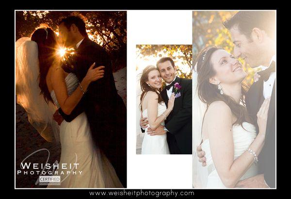 Jupiter Beach Resort and Spa Wedding Album page 27 & 28. Debra Weisheit, Photographer