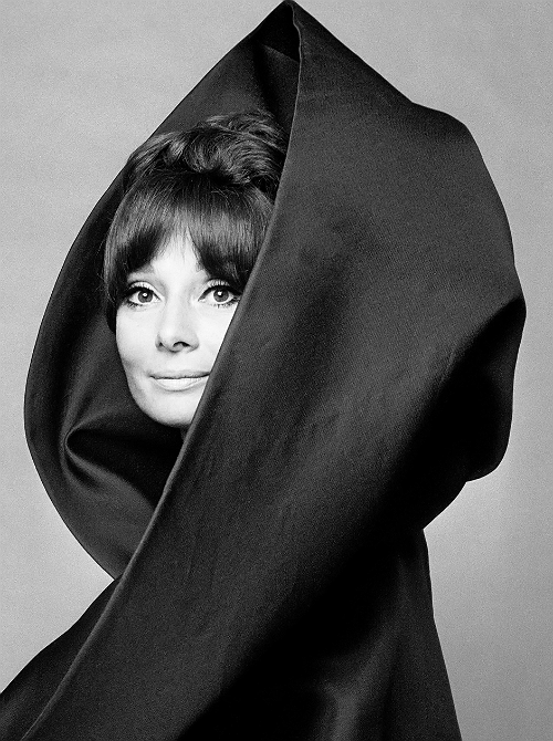 Audrey Hepburn photographed by Gian Paolo Barbieri for Vogue Italia, 1969.