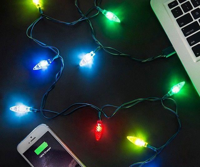 Christmas Lights Charging Cable Christmas Lights Led Christmas Lights Outdoor Christmas Lights
