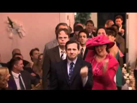 The Office Jim And Pam 39 S Wedding Dance Youtube Wedding Entrance Wedding Ceremony Songs The Office Wedding