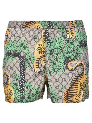 a96fa91e3f77da Pin by ModeSens on Gucci Men | Swim shorts, Swimwear, Gucci