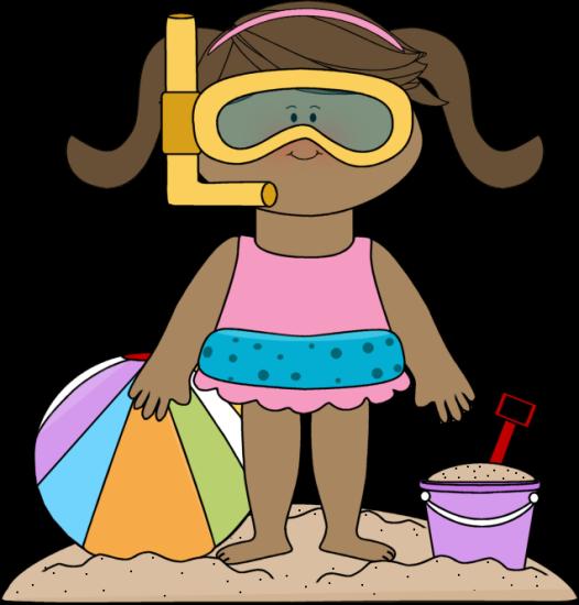 beach clip art girl at the beach clip art image girl at the rh pinterest com Ocean Drawing Ocean Drawing
