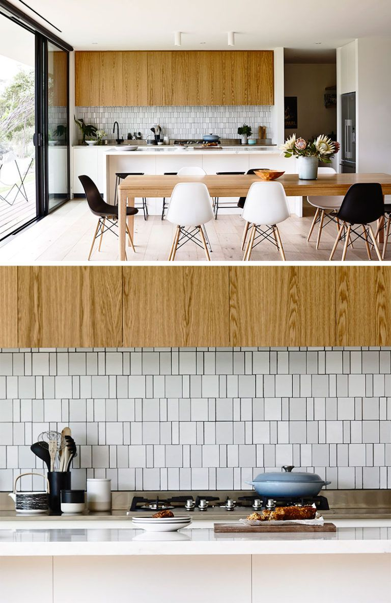 9 Inspirational Pictures Of Kitchens With Geometric Tiles // The ...