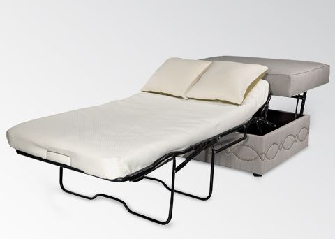 It S An Ottoman That Converts To A Twin Sleeper