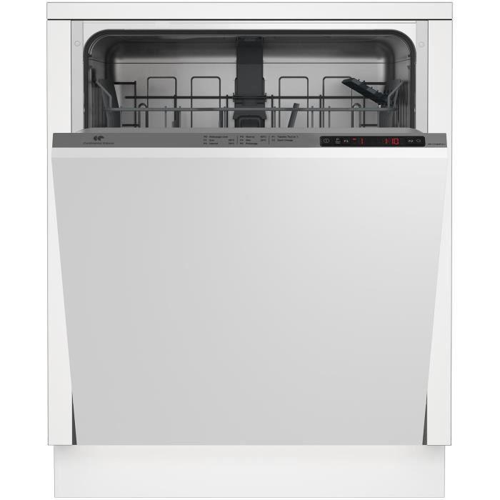 Continental Edison Lave Vaisselle 13couverts 5 Progs 49db Classe A Aa Depart Differe Tout Integrable Largeur 59 9 X Hauteur 81 8 Cm En 2020 Lave Vaisselle Encastrable Lave Vaisselle Et Entretien Lave Vaisselle