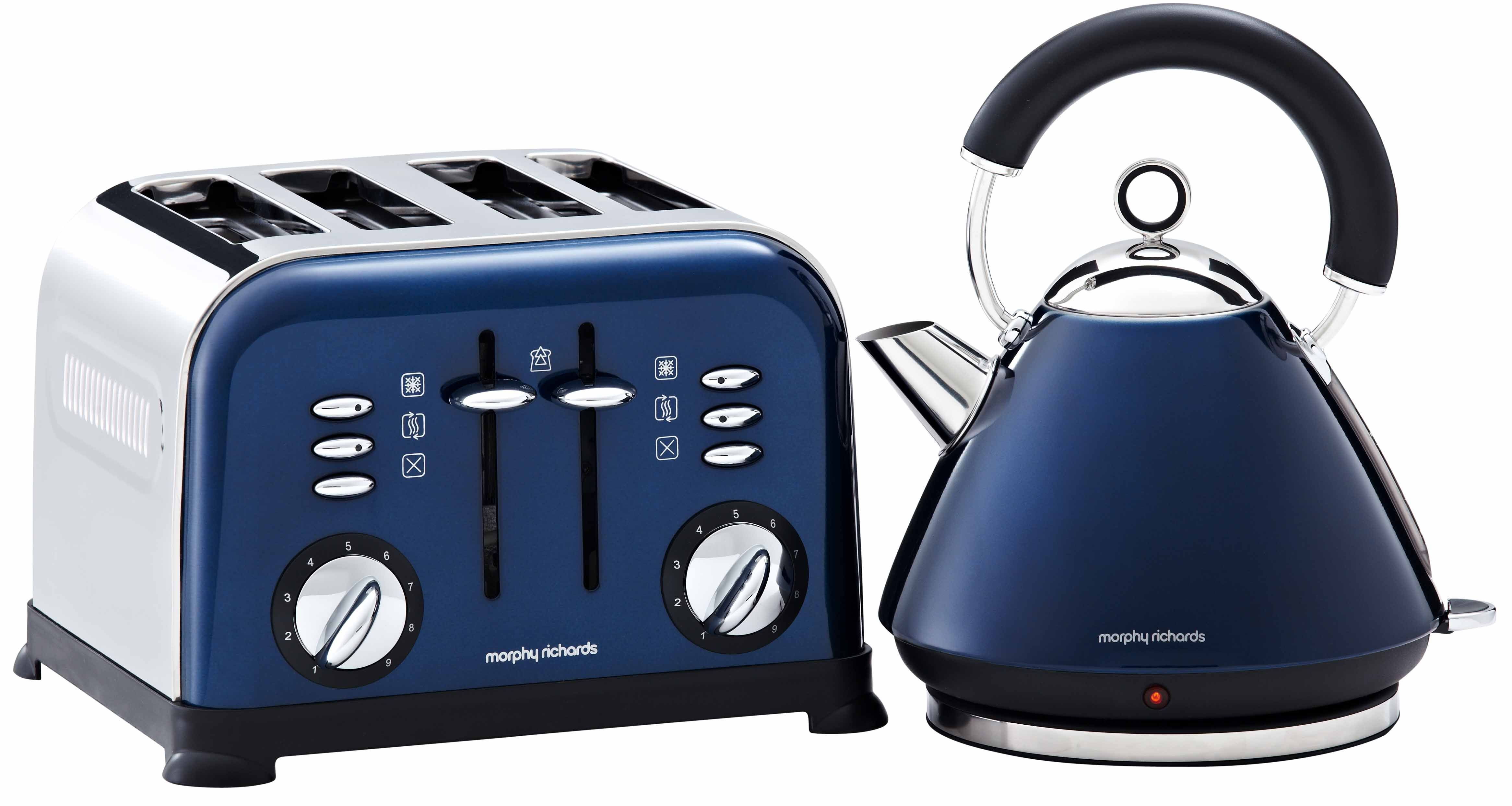 Blue Toasters for Kitchen | These almost-navy blue appliances from Morphy Richards are much more ...