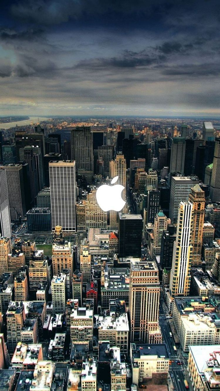 Hd Live Wallpaper For Iphone 4 City Iphone Wallpaper City Wallpaper City Landscape