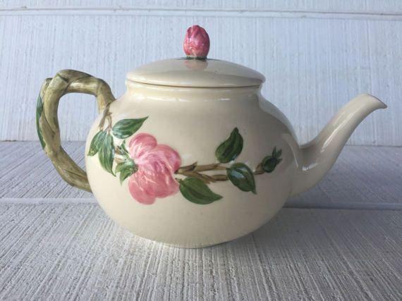 vintage Franciscan Desert Rose Dishes Pink Rose Tea Pot, vintage ...