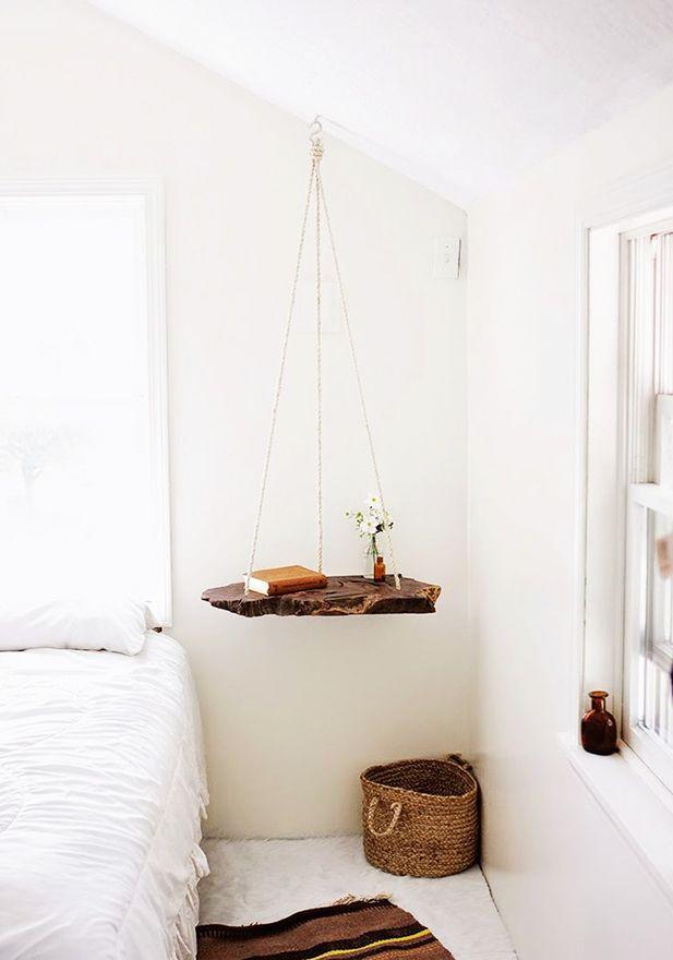 tables de chevet 30 id es d co idees casa muebles. Black Bedroom Furniture Sets. Home Design Ideas