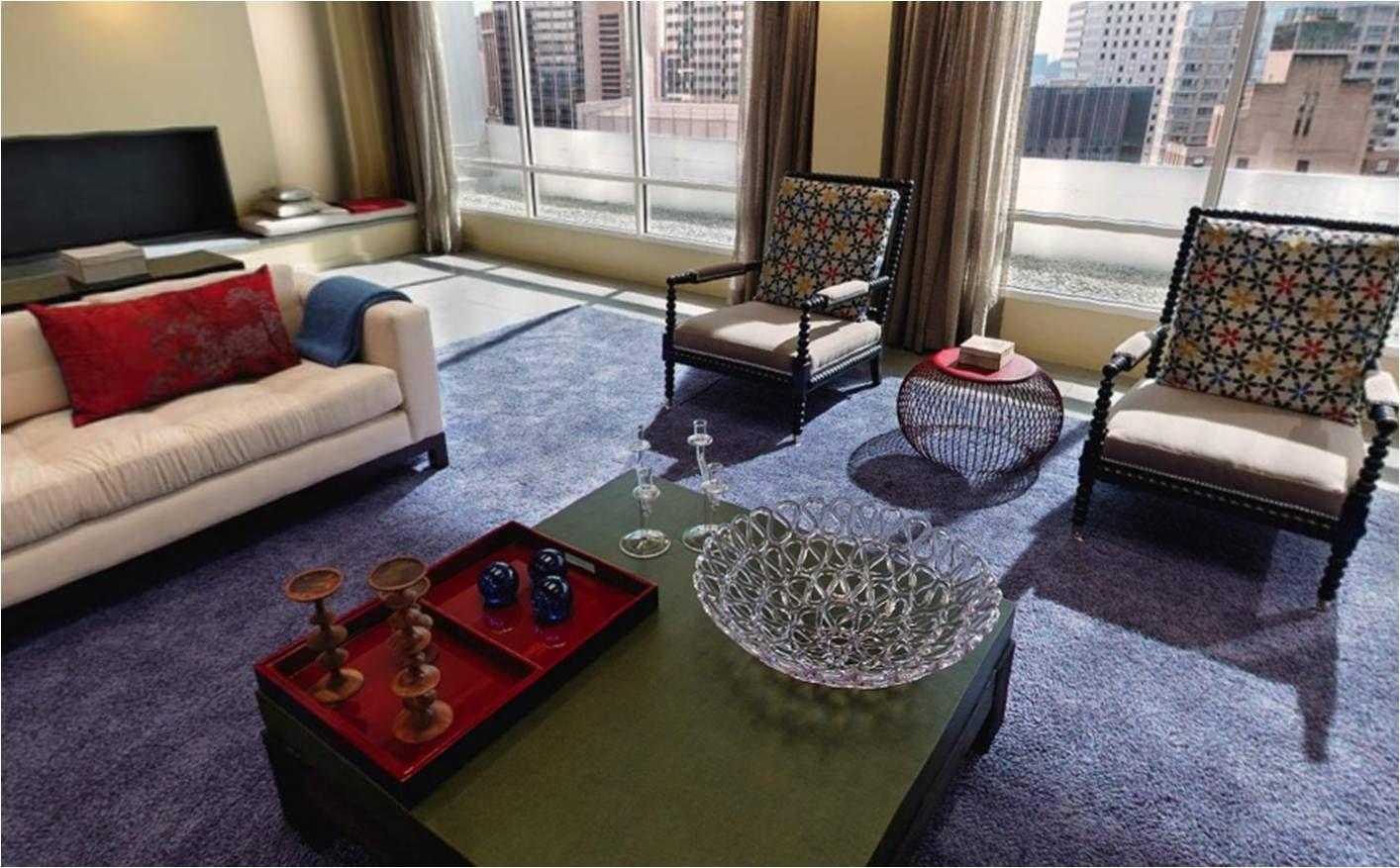 lily van der woodsen's apartment - gossip girl - chair backs