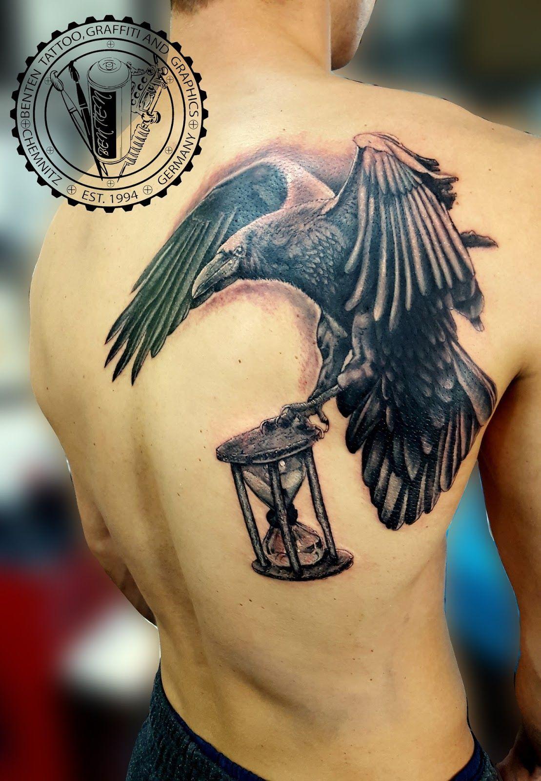 crow tattoo --- Benten Tattoo Chemnitz. Der Tätowierer für Ihre ... - Tattoo Studio Chemnitz