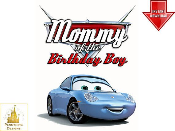 photograph about Lightning Mcqueen Printable Decals identified as Mommy of the Birthday Boy Vehicles Lightning McQueen T Blouse