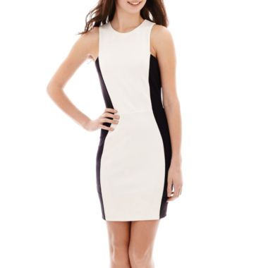 df9d1ff38f5 MNG by Mango® Sleeveless Colorblock Bodycon Dress found at  JCPenney ...