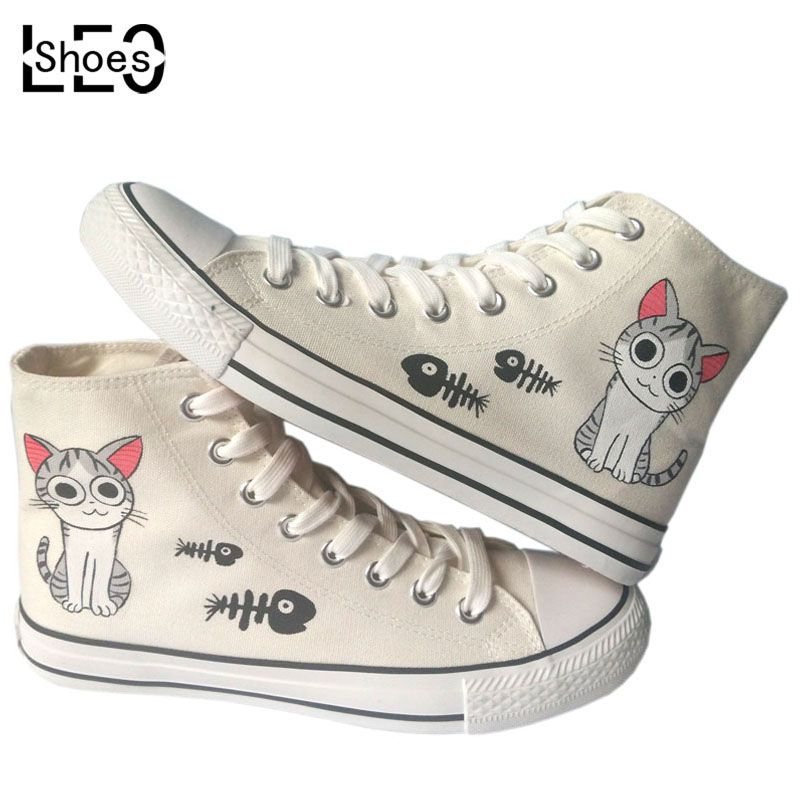 Anime canvas shoes