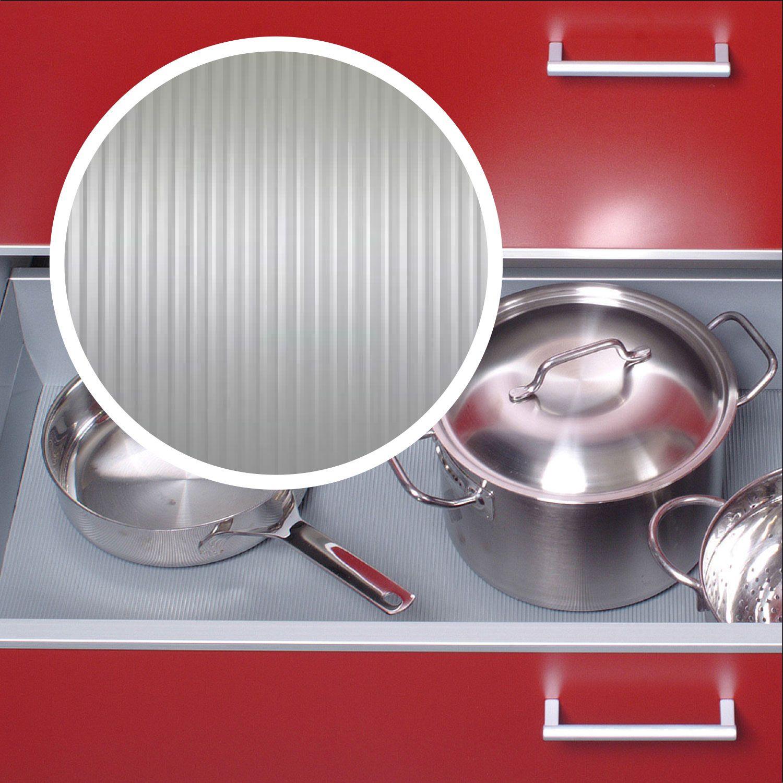 Im Schicken Liniendesign Und Besonders Gut In Der Wirkung Antirutschmatte In Silbergrau Antirutschmatte Kuche Antirutschmatten Kuche
