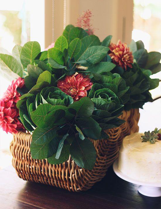 Gardenesque flowers for a horticulturalist mum to be