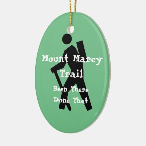 Mount Marcy Trail New York Ceramic Ornament   christmas tablescapes ideas, christmas pictures, christmas wooden decorations #christmasiscoming #christmascard #christmascards