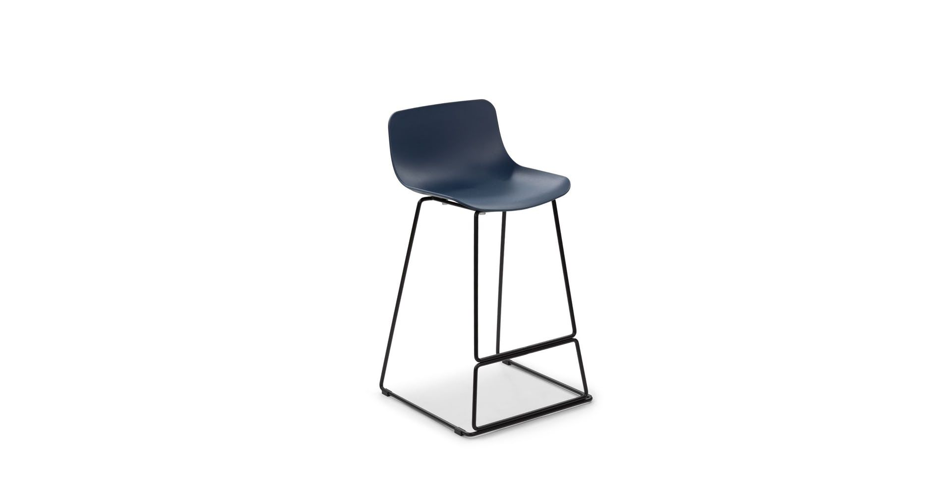 Anco Baya Blue Counter Stool Black Counter Stools Black Bar