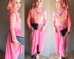 Kebaya Jumputan Hijab Pink Kebaya Dan Dress Kebaya Dresses Fashion