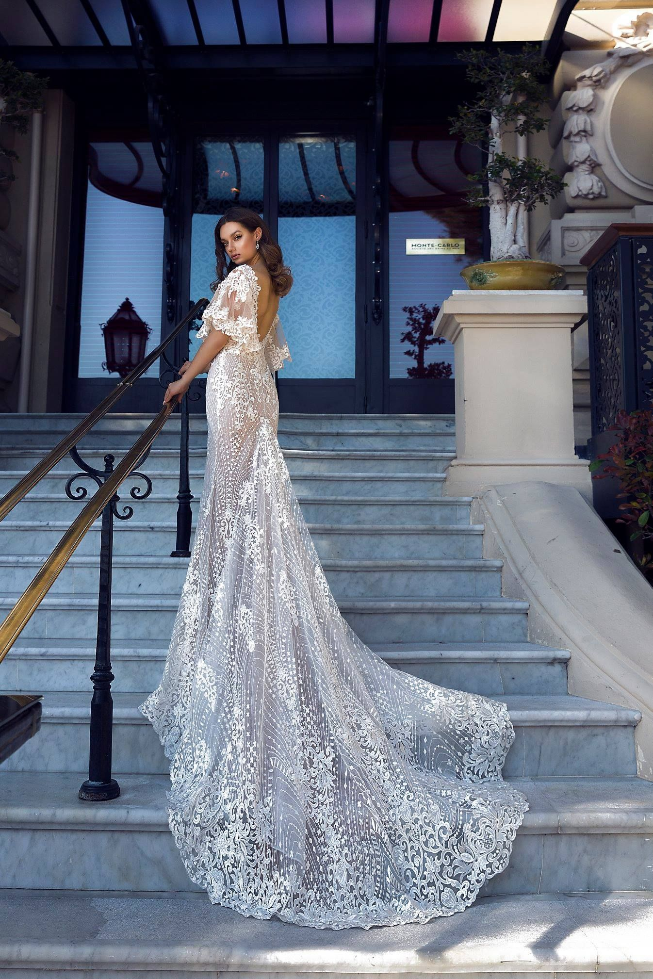 PARIS wedding dress by TINA VALERDI ONLY at Charmé Gaby Bridal Gown ...