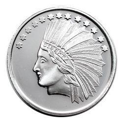 Trademark 10 Gold Indian Replica 1oz Struck In 999 Silver Medallion Gold Eagle Coins Silver Bullion Eagle Coin