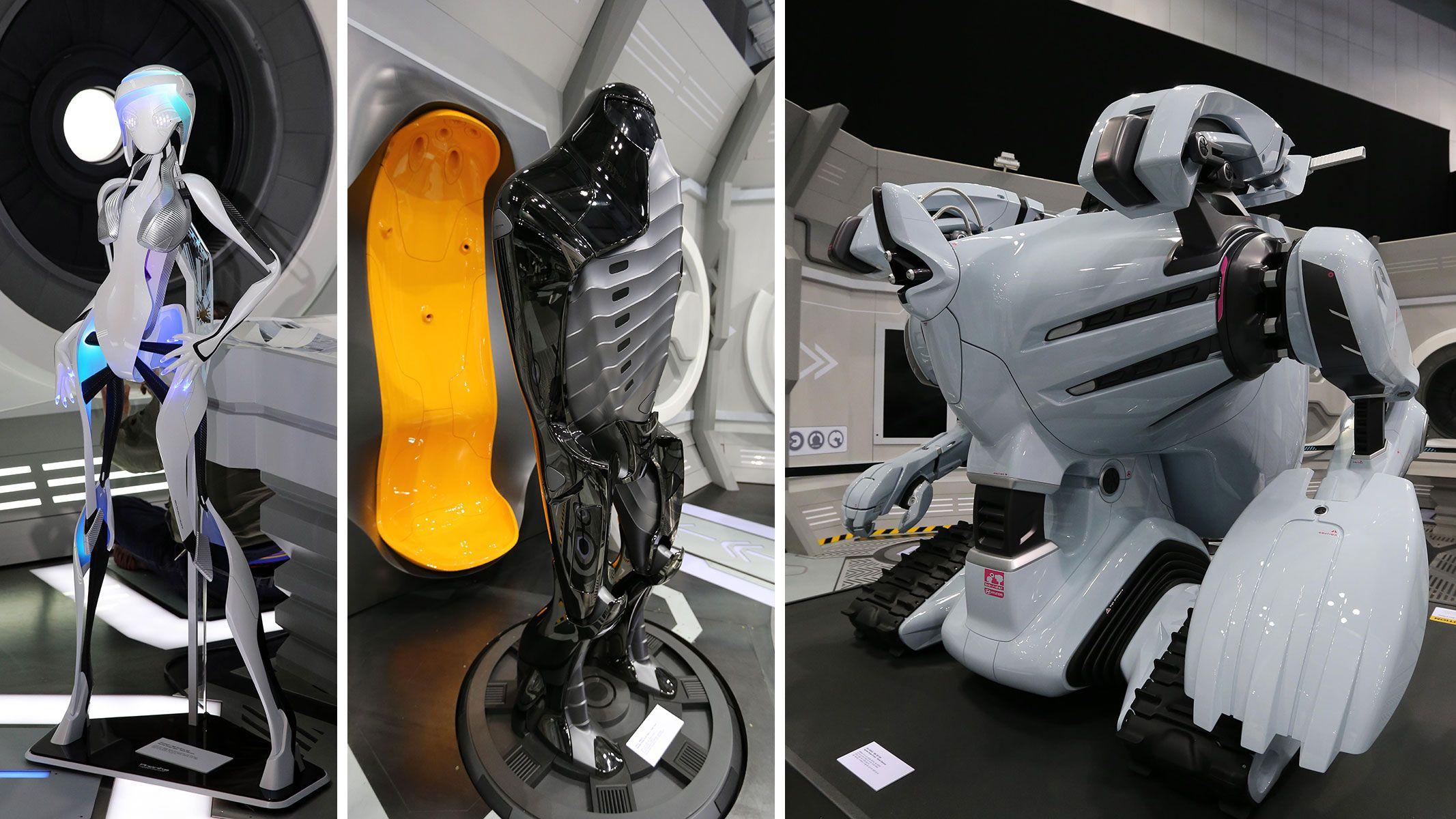 Hyundai Phonika, UFO and Bio-Rider Concepts