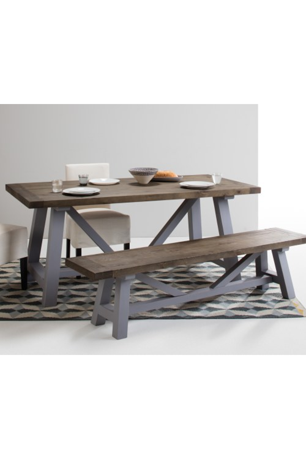 Made Light Wood Dining Table In 2020 Light Wood Dining Table
