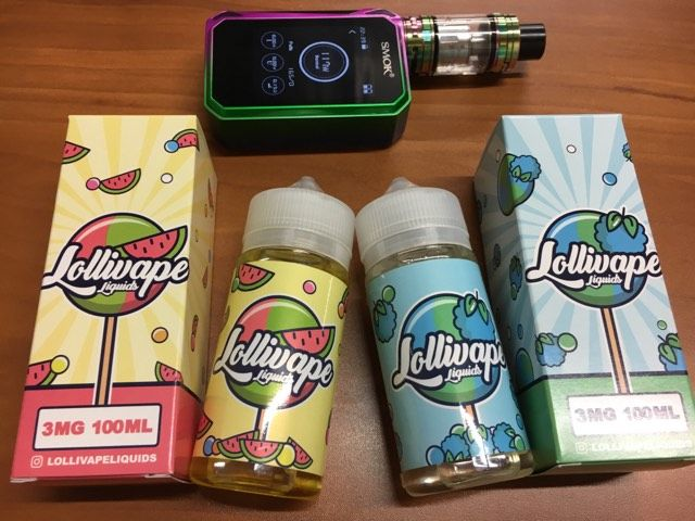 Snag a 100ml of the brand new Lollivape flavors! Check out