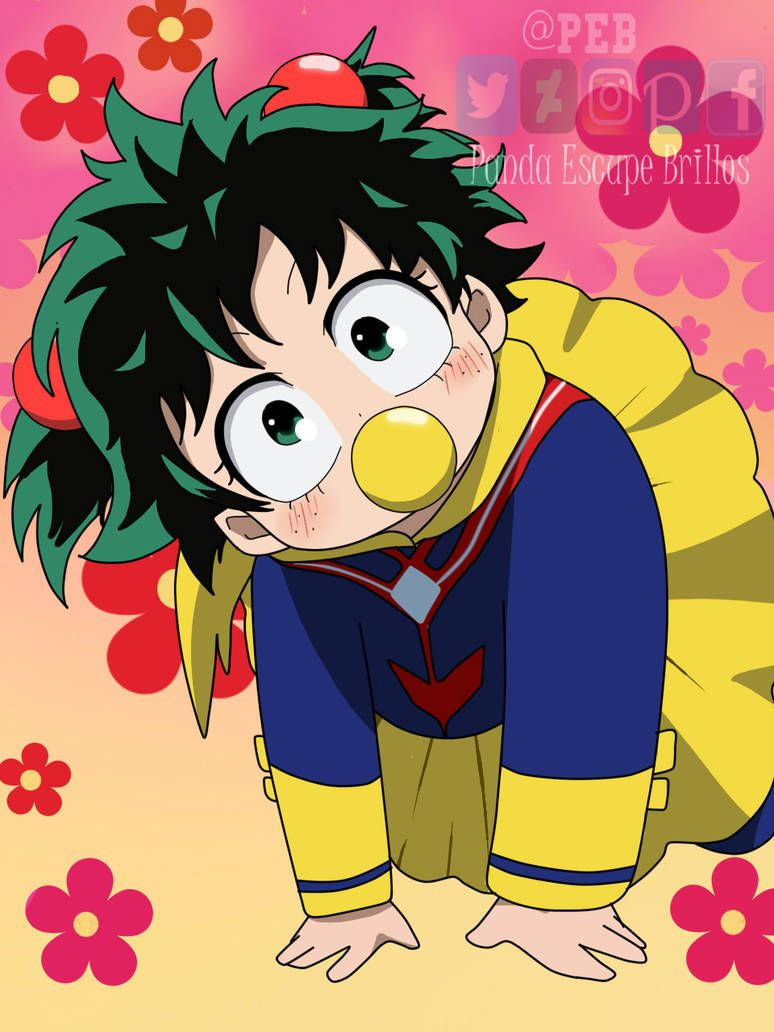 Baby Deku Fem Mha Bnha By Fuko99 On Deviantart My Hero Academia Episodes Anime Baby My Hero Academia Manga