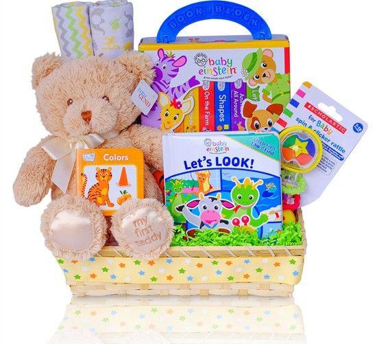 Baby einstein little reader gift basket personalized baby boy baby einstein little reader gift basket negle Choice Image