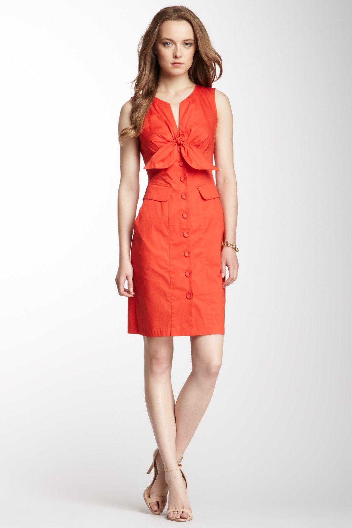 Orange dress casual  Nanette Lepore Mi Amor Dress  My love  Pinterest  Amor Nanette