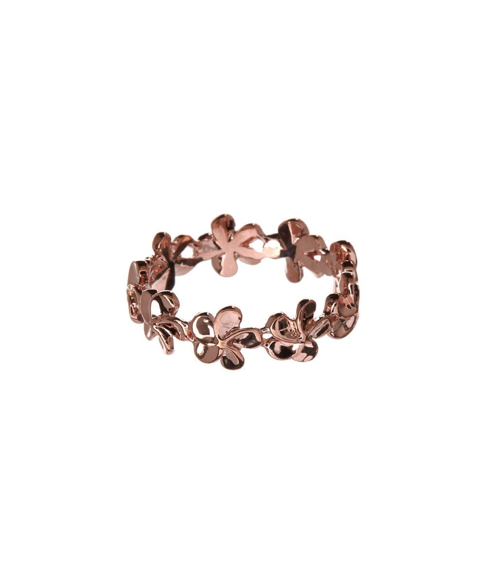 Look at this Rose Gold Daisy Ring on #zulily today!