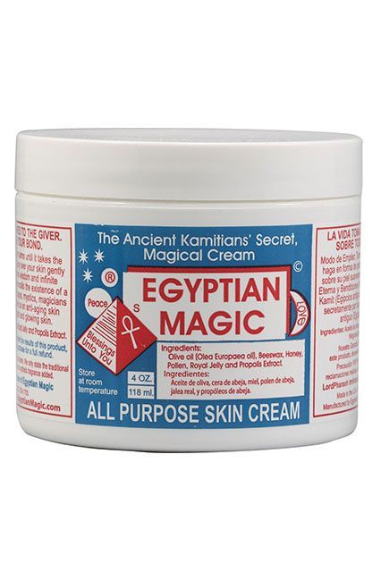 If you haven't heard about this all-purpose skin cream, it's time to get savvy. With natural ingredients like olive oil, beeswax, and propolis, this coveted jar is loved by celebrities, makeup artists, and apparently Cleopatra (the formula is allegedly ba