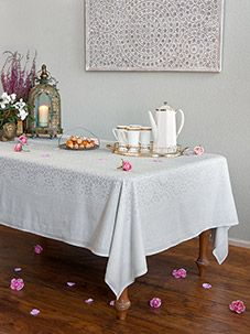 Royal Mansour ~ Moroccan Medallion Trellis White Tablecloth | Table Linens  | Pinterest | Moroccan, White Tablecloth And Dinner Napkins