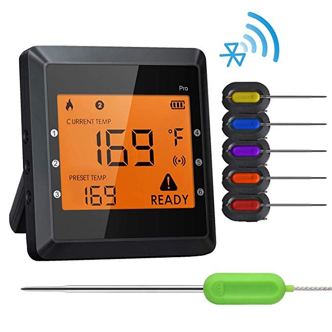 Digital Bluetooth Meat Thermometer for iPhone 6 Long