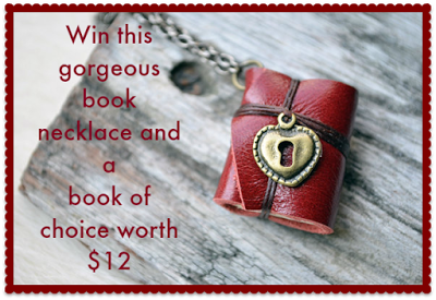 With Love for Books: Book Necklace and Book of Choice Giveaway