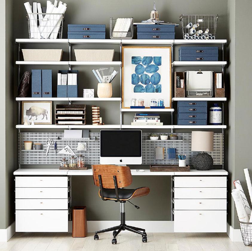 Office Shelving Custom Desk Ideas Ideas For Desks Home