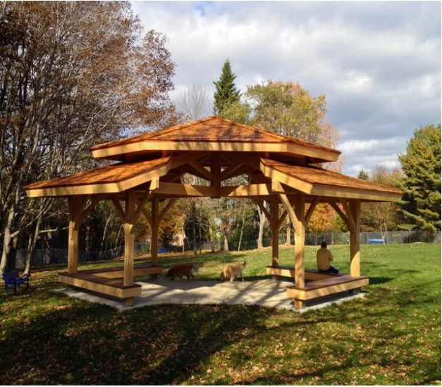 Heart Touching Ideas Of Gazebo Roof Or Cover: Difference Between Pergola And Gazebo