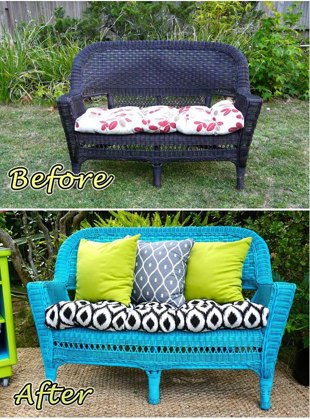 Before After Updating An Old Wicker Chair Diy Ideas Wicker - Why-wicker-patio-furniture-is-the-best-choice-for-your-outdoor-needs
