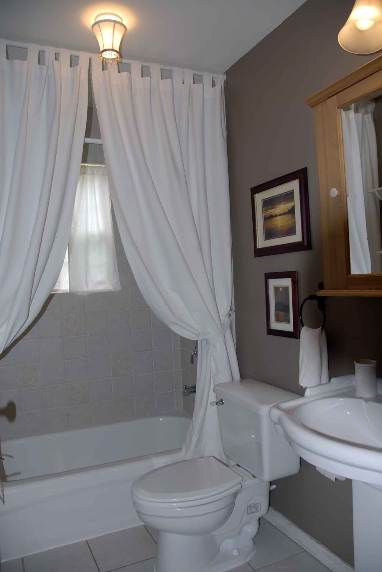 Guest Bathroom Designs Large Third Bedroom Shown With