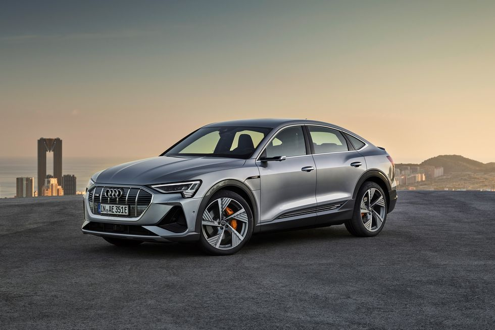 2020 Audi E Tron Sportback Is The A7 Of Audi Evs Audi E Tron E Tron Tron