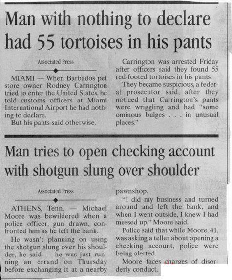 Newspaper Headlines Funny Headlines Funny News Headlines