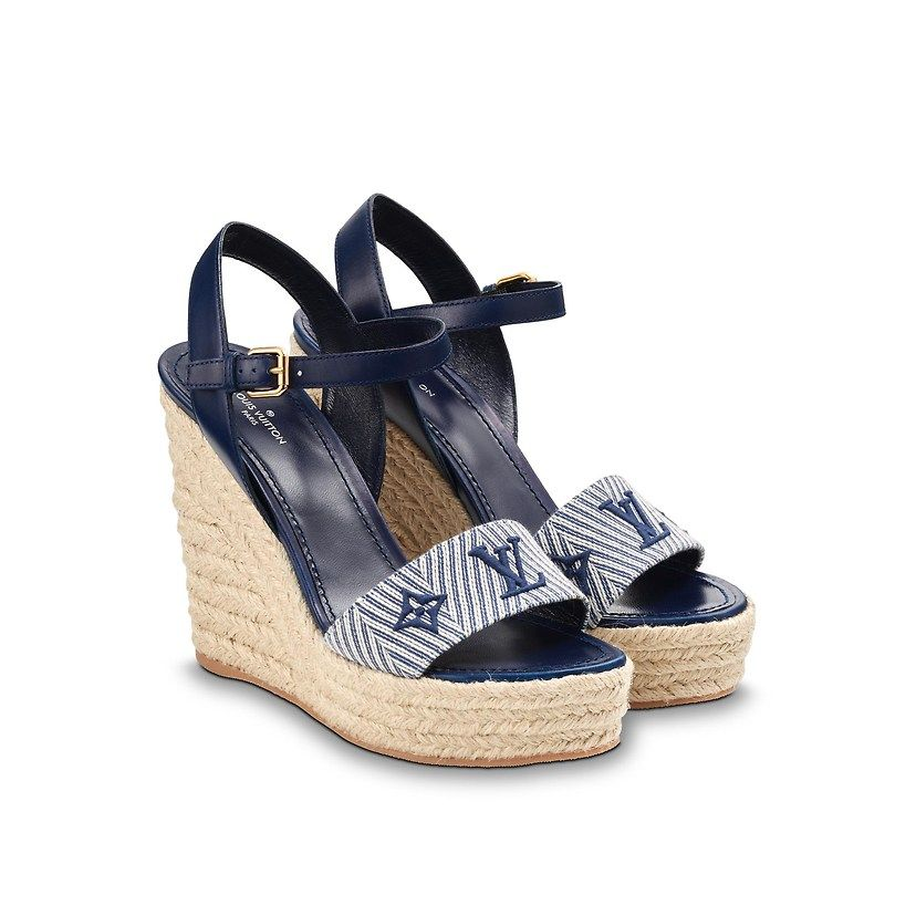 32f7f7b8f992 Sail Away Wedge Sandal in Women s Shoes collections by Louis Vuitton ...