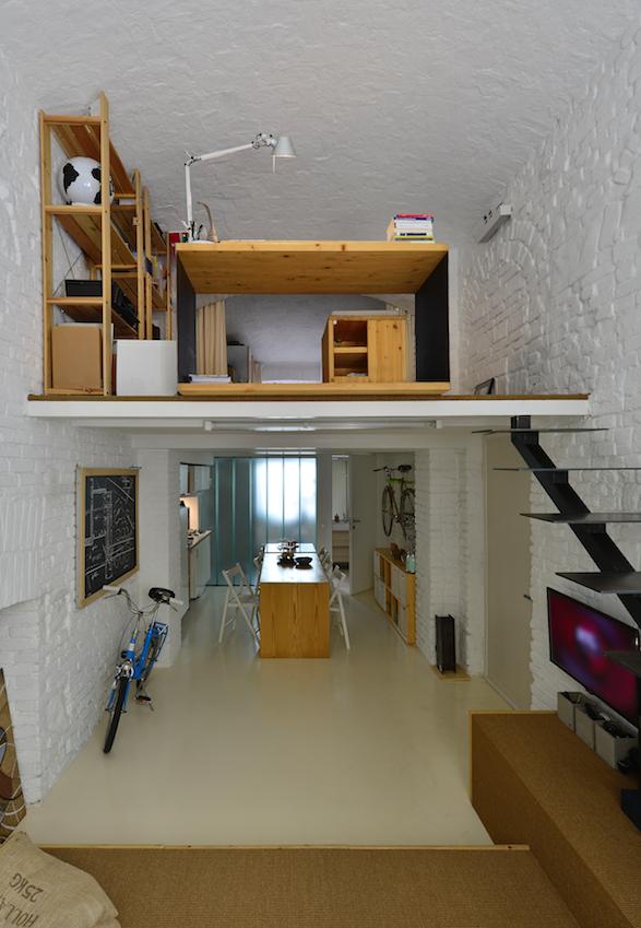 Piccolo ma polifunzionale appartamento e spazio lavoro