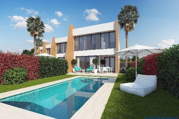 Somas Luxus Reihenhaus bei Villamartin Costa Blanca in