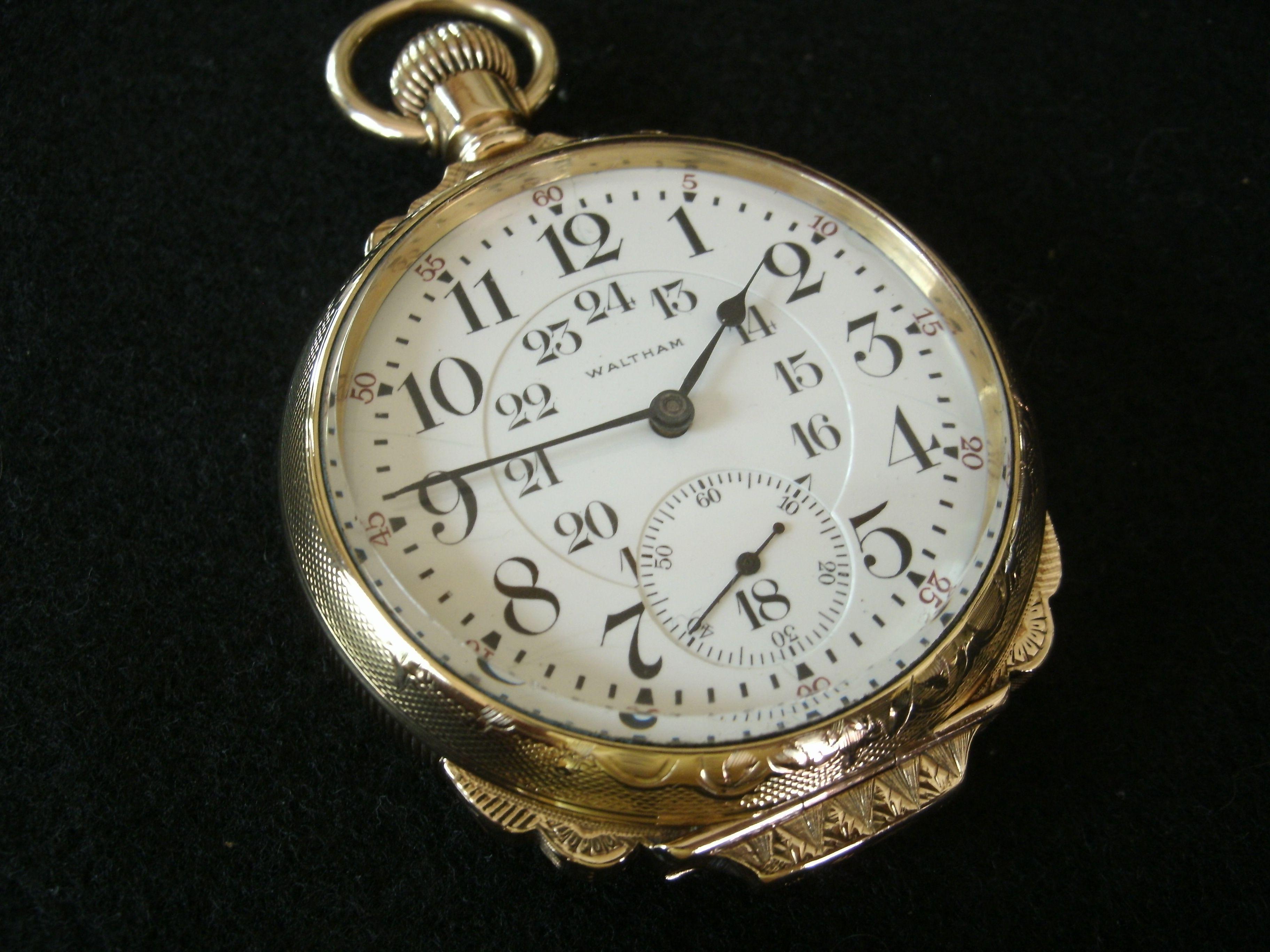 Waltham 845 Railroad watch.