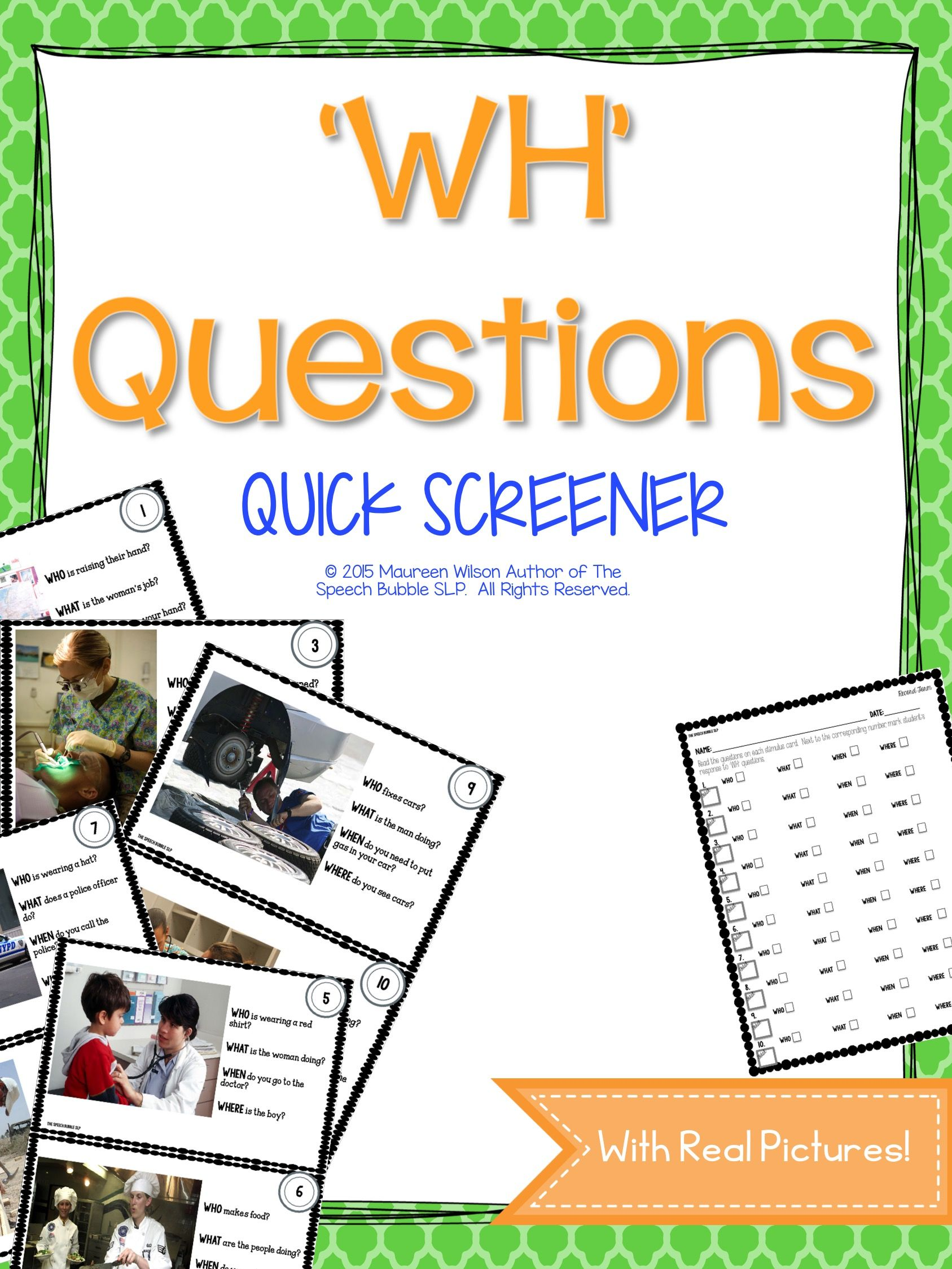 The Wh Question Screener