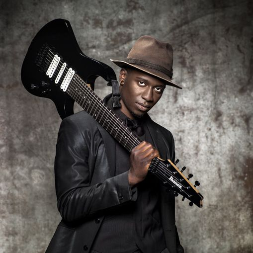 Tosin Abasi Moving Up In The Guitar World Tosin Abasi Guitar Music People