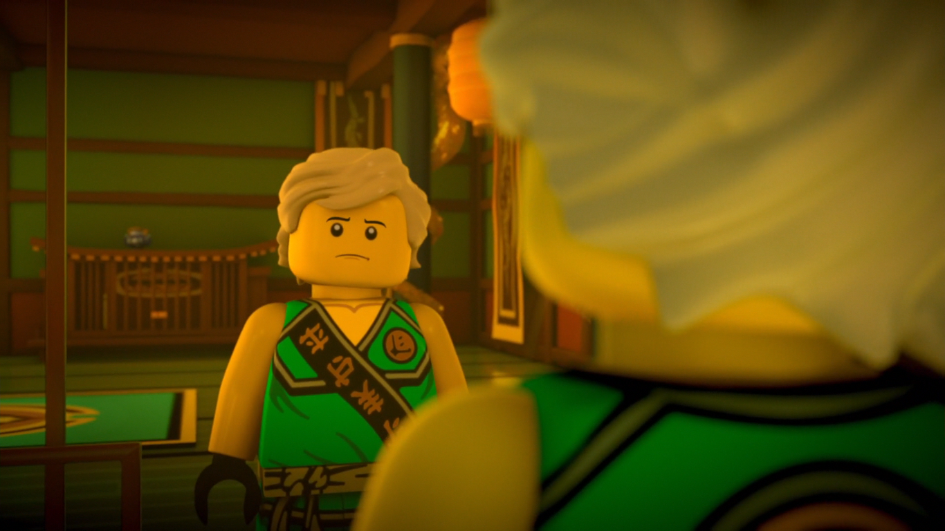 Lloyd from the tournament of elements ninjago
