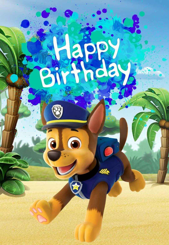 Paw Patrol Printable Birthday Cards Printbirthday Cards Paw Patrol Birthday Card Paw Patrol Birthday Birthday Card Printable
